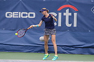 Washington, DC - August 5, 2017: Renata Voracova (CZE) in action during the match at Rock Creek Park Tennis Center in Washington, DC. (Photo by Elliott Brown/Media Images International)