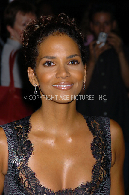 "Halle Berry at the ""Catwoman"" VIP screening after-party at Henri Bendel's 5th Avenue location. New York City, July 21 2004. Please byline: AJ SOKALNER/ACE Pictures..*PAY-PER-USE*....IMPORTANT: Please note that our old trade name New York Photo Press has changed to ACE Pictures. New York Photo Press and ACE Pictures are both owned by All Celebrity Entertainment, Inc.......All Celebrity Entertainment, Inc..Contact: Alecsey Boldeskul, (646) 267 6913..Philip vaughan, (646) 769 0430..e-mail: info@acepixs.com..Philip.Vaughan@acepixs.com"