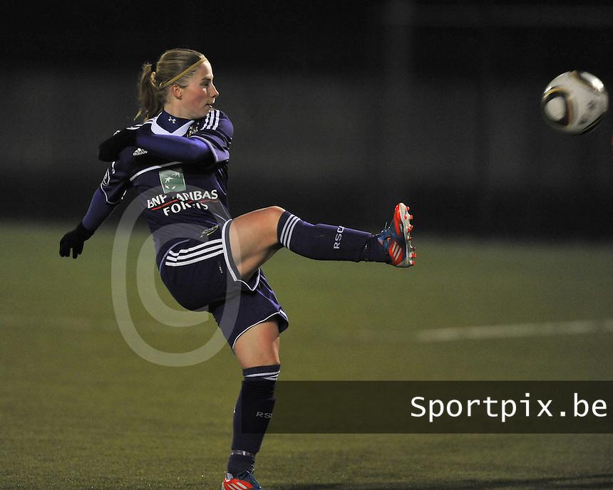 RSC Anderlecht - Standard Femina : Jana Coryn.foto DAVID CATRY / Vrouwenteam.be