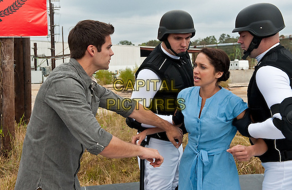 Brant Daugherty, Maiara Walsh<br /> in The Starving Games (2013) <br /> *Filmstill - Editorial Use Only*<br /> CAP/NFS<br /> Image supplied by Capital Pictures
