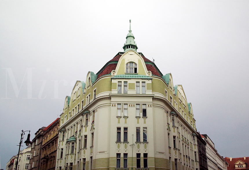 Architecture, Prague, Czech Republic