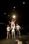 "Urban Garden performs ""Mark Twain's Joan of Arc"" at Politheatrics 2012 at Burning Coal Theatre"