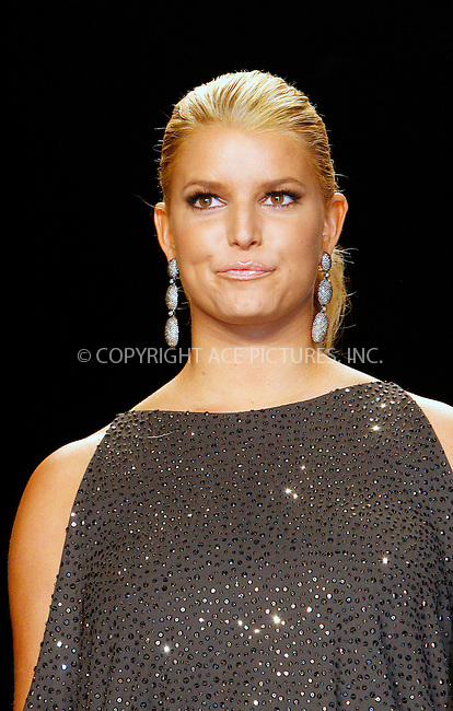 WWW.ACEPIXS.COM . . . . .  ....September 9 2010, New York City....Jessica Simpson at Mercedes Benz Spring 2011 New York Fashion Week at the Lincoln Center on September 9 2010 in New York City....Please byline: NANCY RIVERA- ACEPIXS.COM.... *** ***..Ace Pictures, Inc:  ..Tel: 646 769 0430..e-mail: info@acepixs.com..web: http://www.acepixs.com