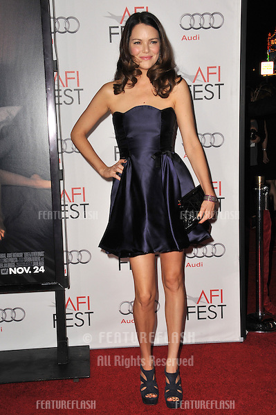 "Jacinda Barrett at the world premiere of ""Love & Other Drugs"" as the opening night gala of the AFI Fest 2010 at Grauman's Chinese Theatre, Hollywood..November 4, 2010  Los Angeles, CA.Picture: Paul Smith / Featureflash"