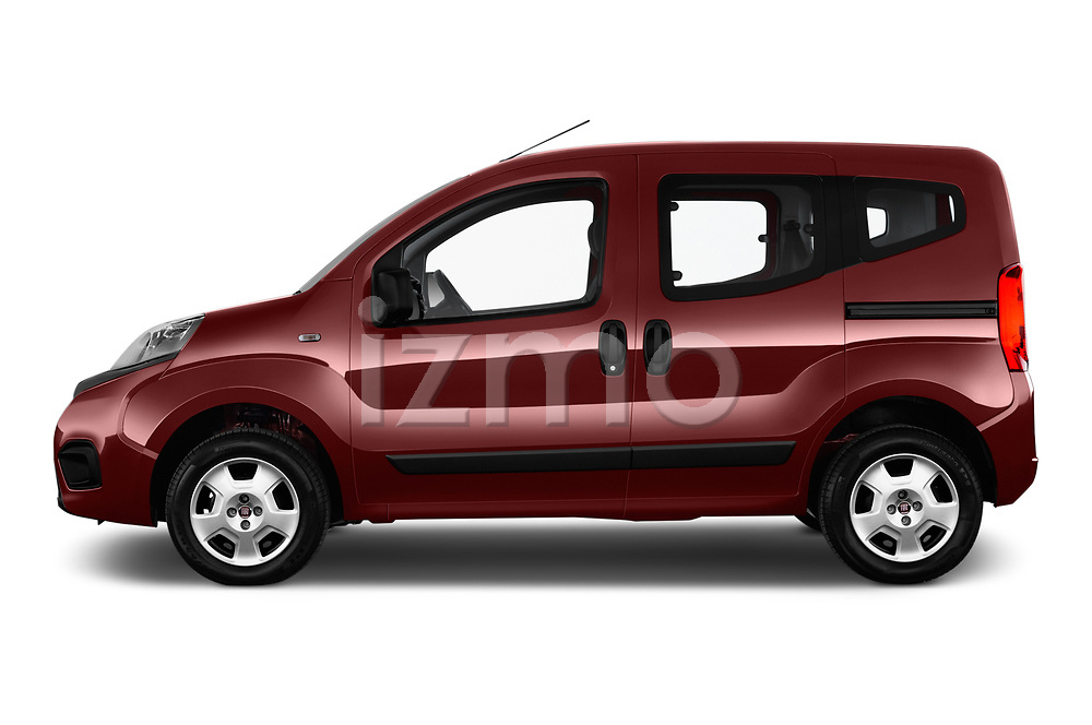 Car driver side profile view of a 2017 Fiat Qubo Easy 5 Door MPV