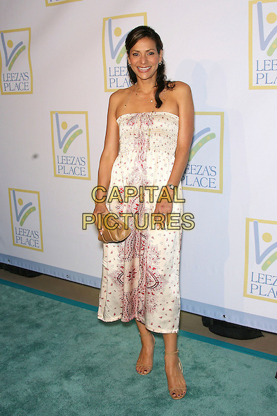 CONSTANCE MARIE.Opening of Assistance League Leeza's Place Care Center in Hollywood, Los Angeles, California, USA,.21 April 2006..full length strapless white dress.Ref: ADM/ZL.www.capitalpictures.com.sales@capitalpictures.com.©Zach Lipp/AdMedia/Capital Pictures.