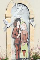 France, Indre (36), Champagne Berrichonne, Saint-Valentin, la Maison de Saint Valentin // France, Indre, Saint Valentin, the House of Saint Valentin
