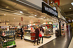 London Gatwick airport Duty Free shop at Gatwick airport north terminal, London, England, UK
