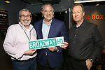 Mitch Owgang, Stewart F. Lane and David Horn Behind the Scenes with BroadwayHD: A Digital Capture of  Roundabout Theatre Company's 'If I Forget' at Laura Pels Theatre on 4/28/2017 in New York City.