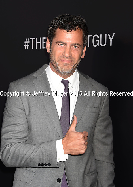 BEVERLY HILLS, CA - SEPTEMBER 02: Director David M. Rosenthal arrives at the premiere of Screen Gems' 'The Perfect Guy' at The WGA Theater on September 2, 2015 in Beverly Hills, California.