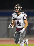 Lawndale, CA 09/29/17 - Ethan Meyers (Torrance #4) in action during the Torrance vs Lawndale CIF Varsity football game at Lawndale High School.   Lawndale defeated Torrance 42-0.