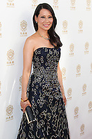 HOLLYWOOD, LOS ANGELES, CA, USA - JUNE 01: Lucy Liu at the 12th Annual Huading Film Awards held at the Montalban Theatre on June 1, 2014 in Hollywood, Los Angeles, California, United States. (Photo by Xavier Collin/Celebrity Monitor)