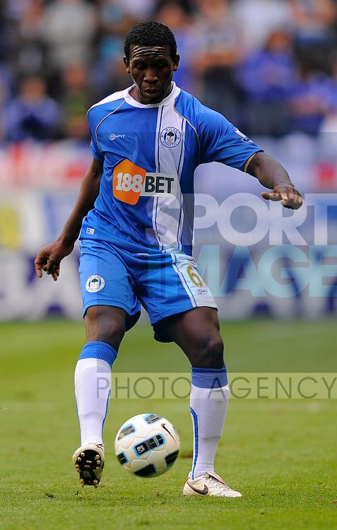 Hendry Thomas of Wigan Athletic