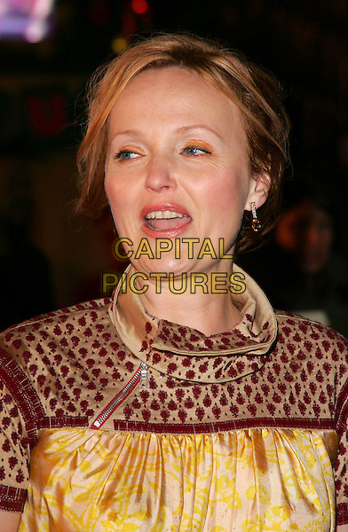 """MIRANDA RICHARDSON.European Premiere of """"Fred Claus"""" at the Empire Cinema, Leicester Square, London, England, November 19th 2007.portrait headshot funny.CAP/ROS.©Steve Ross/Capital Pictures"""
