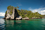 Karst islands at Temintoi, Triton Bay, Papua