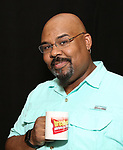 "James Monroe Iglehart In Rehearsal with the Kennedy Center production of ""Little Shop of Horrors"" on October 11 2018 at Ballet Hispanica in New York City."