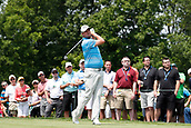 4th June 2017, Dublin, OH, USA;  Marc Leishman tees off on the first hole during the Memorial Tournament - Final Round at Muirfield Village Golf Club in Dublin, Ohio