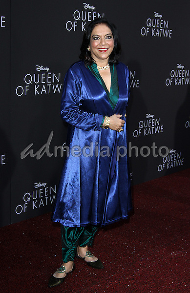 "20 September 2016 - Hollywood, California - Mira Nair. ""Queen Of Katwe"" Los Angeles Premiere held at the El Capitan Theater in Hollywood. Photo Credit: AdMedia"