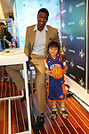Hakeem Nicks & Iman Shumpert at Lord & Taylor Guys' Night Out 6/7/12