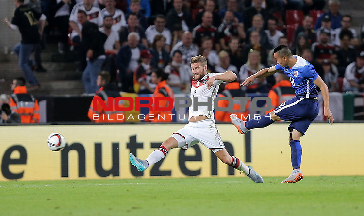 DFB Freundschaftsl&auml;nderspiel, Deutschland vs. USA<br /> Bobby Wood (USA) erzielt das 2:1<br /> <br /> Foto &copy; nordphoto /  Bratic