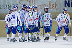 Bolln&auml;s 2014-01-17 Bandy  Bolln&auml;s GIF - Villa Lidk&ouml;ping BK :  <br /> Villa Lidk&ouml;ping Daniel Andersson gratuleras efter sitt 1-0 m&aring;l<br /> (Foto: Kenta J&ouml;nsson) Nyckelord:  jubel gl&auml;dje lycka glad happy