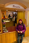 Beth in St Anton, Austria, Europe 2014,