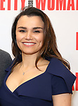 Samantha Barks attends the photo call for the New Broadway Bound Musical 'Pretty Woman' on January 22, 2018 at the New 42nd Street Studios in New York City.