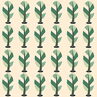 &quot;Meadow Rabbits&quot; is a hand illustrated scalable vector surface pattern collection inspired by cute rabbits roaming in the grassy meadows.<br />