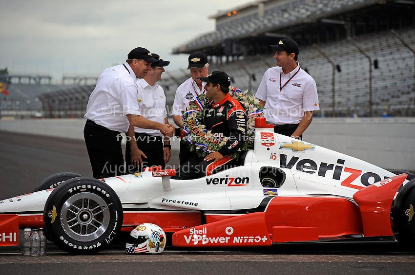25 May, 2015, Indianapolis, Indiana, USA<br /> Winner Juan Pablo Montoya<br /> &copy;2015, F. Peirce Williams