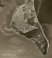 aerial photograph Key Biscayne, Florida