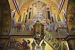 Israel, Mount Tabor, Transfiguration Day ceremony at St. Elias Greek Orthodox monastery