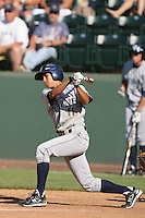 June 5, 2010: Tommy Reyes of UC Irvine during NCAA Regional game against Kent State at Jackie Robinson Stadium in Los Angeles,CA.  Photo by Larry Goren/Four Seam Images