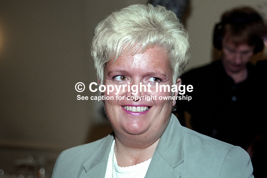 Patricia Lewsley, SDLP, MLA, Lagan Valley, N Ireland Assembly, 199911035.<br />