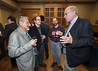 The Occidental College History Department hosts a dinner for the Ray Allen Billington Visiting Professorship in United States History, which Oxy co-founded with the Huntington Library, November 17, 2014 in Dumke Commons, Swan Hall. (Photo by Marc Campos, Occidental College Photographer)
