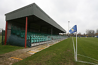 General view of the ground during Romford vs Basildon United, Bostik League Division 1 North Football at Rookery Hill on 24th November 2018