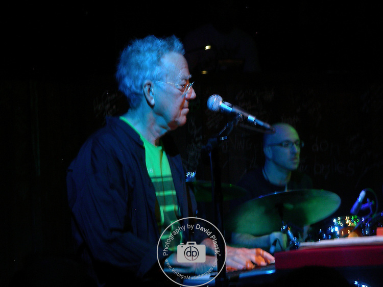 Ray Manzarek of the Doors in Las Vegas in 2009