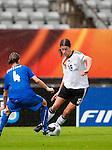 Kerstin Garefrekes, Alessia Tuttino, QF, Germany-Italy, Women's EURO 2009 in Finland, 09042009, Lahti Stadium.