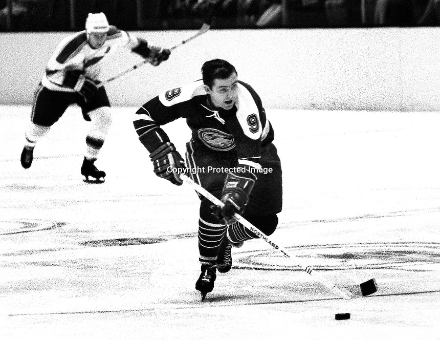 California Golden Seals Bill Hicke (1969 photo/Ron Riesterer)