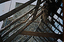 19/10/14 <br /> <br /> Collect photo showing the church roof in 1994 after Bob began to clear the ivy.<br /> <br /> How one man&rsquo;s twenty-two year crusade to save a derelict church was bedeviled with problems but proved to be anything but folly.<br /> <br /> An Anglo Saxon church where unique ancient wall paintings were uncovered will soon begin the next phase of restoration . Church Warden, Bob Davey, 85 still opens the church to visitors every day and continues to oversee the restoration.<br /> <br /> Full copy here:<br /> <br /> http://www.fstoppress.com/articles/bob-davey-st-marys-church/<br /> <br /> All Rights Reserved - F Stop Press.  www.fstoppress.com. Tel: +44 (0)1335 300098