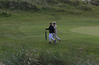 Mrs Lowry and friend on the 4th during Round 3 of the East of Ireland Amateur Open Championship at Co. Louth Golf Club in Baltray on Sunday 4th June 2017.<br /> Photo: Golffile / Thos Caffrey.<br /> <br /> All photo usage must carry mandatory copyright credit     (&copy; Golffile | Thos Caffrey)