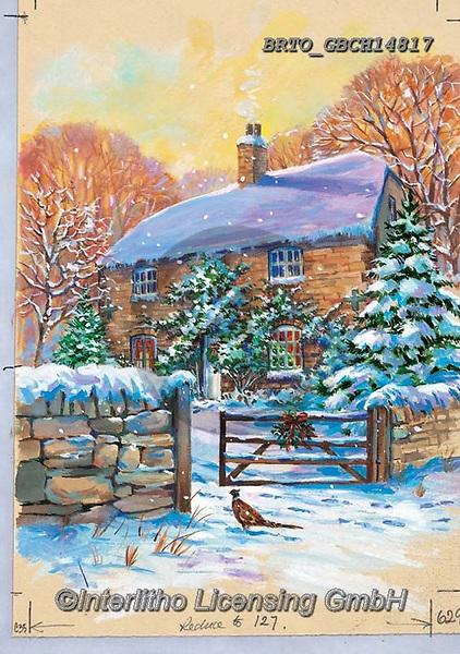 Alfredo, CHRISTMAS LANDSCAPES, WEIHNACHTEN WINTERLANDSCHAFTEN, NAVIDAD PAISAJES DE INVIERNO, paintings+++++,BRTOGBCH14817,#xl#