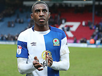 Blackburn Rovers' Amari'i Bell at the end of the game<br /> <br /> Photographer Rachel Holborn/CameraSport<br /> <br /> The EFL Sky Bet League One - Blackburn Rovers v Oldham Athletic - Saturday 10th February 2018 - Ewood Park - Blackburn<br /> <br /> World Copyright &copy; 2018 CameraSport. All rights reserved. 43 Linden Ave. Countesthorpe. Leicester. England. LE8 5PG - Tel: +44 (0) 116 277 4147 - admin@camerasport.com - www.camerasport.com