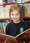 Jessica at the World Book Day Workshop in The Library...Photo NEWSFILE/Jenny Matthews.(Photo credit should read Jenny Matthews/NEWSFILE)....This Picture has been sent you under the condtions enclosed by:.Newsfile Ltd..The Studio,.Millmount Abbey,.Drogheda,.Co Meath..Ireland..Tel: +353(0)41-9871240.Fax: +353(0)41-9871260.GSM: +353(0)86-2500958.email: pictures@newsfile.ie.www.newsfile.ie.FTP: 193.120.102.198.