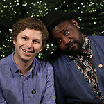 Michal Cera and Bryan Tyree Henry attends the 2018 Tony Awards Meet The Nominees Press Junket on May 2, 2018 at the Intercontinental Hotel in New York City.