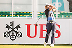 Rahil Gangjee of India tees off the first hole during the 58th UBS Hong Kong Open as part of the European Tour on 08 December 2016, at the Hong Kong Golf Club, Fanling, Hong Kong, China. Photo by Marcio Rodrigo Machado / Power Sport Images