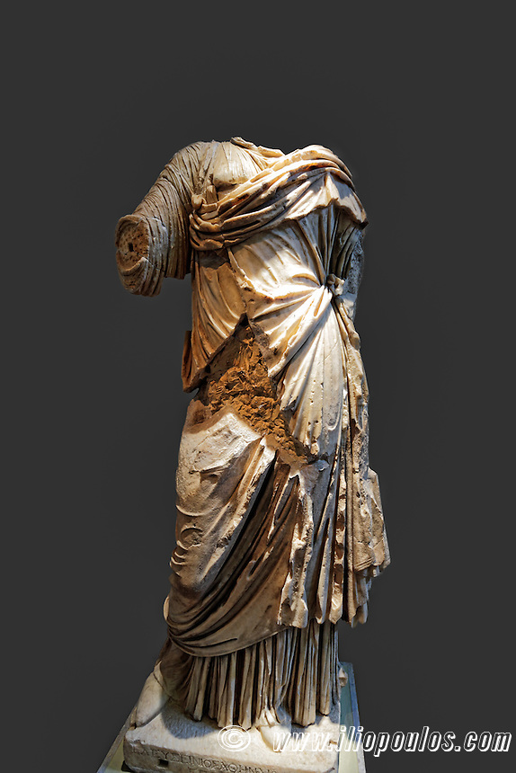 Distinguished Eleian (1st cent. A.D.) in Olympia museum, Greece