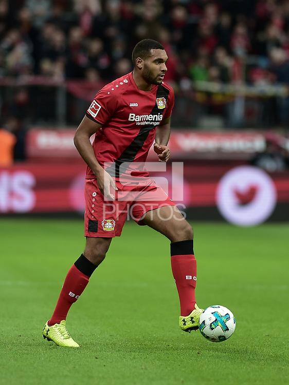 Football : Germany -1. Bundesliga  2017/18 <br /> Bayer Leverkusen 04 vs Mainz <br /> 28/01/2018 - Jonathan Tah (Bayer 04 Leverkusen) *** Local Caption *** &copy; pixathlon<br /> Contact: +49-40-22 63 02 60 , info@pixathlon.de