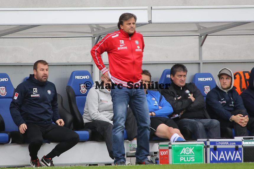 Trainer Falko Götz (Aue) - FSV Frankfurt vs. FC Erzgebirge Aue, Frankfurter Volksbank Stadion