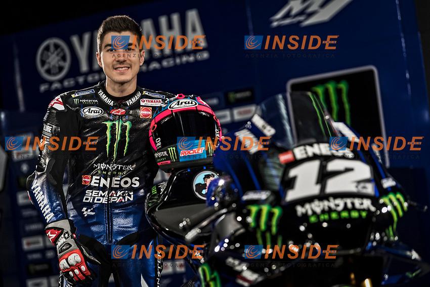 Maverick Vinales <br /> 2019 MONSTER ENERGY YAMAHA MOTOGP TEAM PRESENTATION <br /> 14/01/2019<br /> Foto Yamaha Press Office / Insidefoto <br /> Editorial Use Only