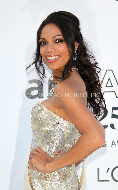 WWW.ACEPIXS.COM . . . . .  ..... . . . . US SALES ONLY . . . . .....May 19 2011, Cannes....Rosario Dawson arriving at amfAR's Cinema Against AIDS Gala at the 64th Annual Cannes Film Festival at Hotel Du Cap on May 19, 2011 in Cannes, France.....Please byline: FAMOUS-ACE PICTURES... . . . .  ....Ace Pictures, Inc:  ..Tel: (212) 243-8787..e-mail: info@acepixs.com..web: http://www.acepixs.com